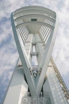 Spinnaker Tower, Portsmouth. (c) John Callaway (2009)