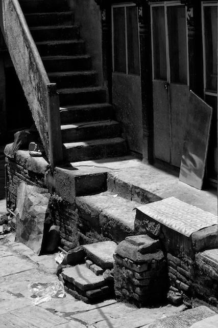 Side Street, Banepa. John Callaway (2010)