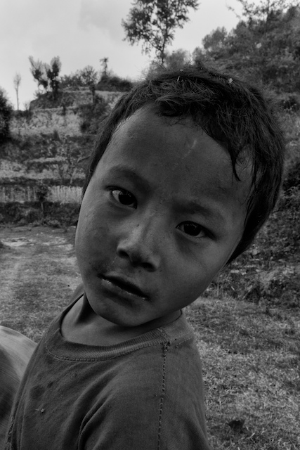 Village boy, Kavre District. John Callaway (2010)