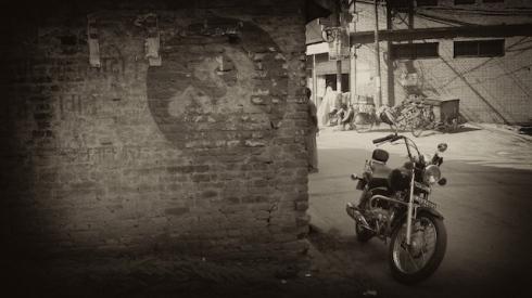 Legacy from the past? Maoist Grafitti, Lainchaur, Kathmandu