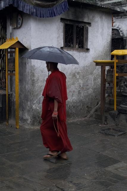Monk at Namobuddah. John Callaway (2010)