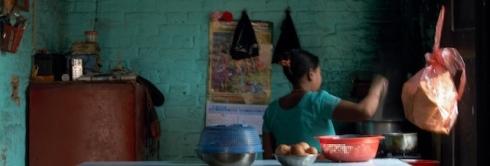 Preparing Noodles. Dhulikel. John Callaway (2010)