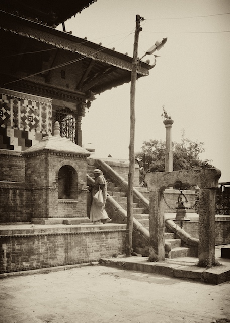 Temple at Dhulikel. John Callaway (2010)