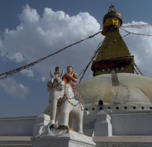 Bodhnath Stupa. john Callaway 2010