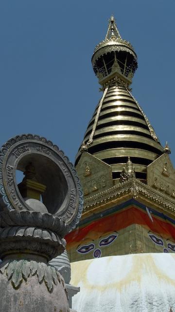 Swayambhunath. john Callaway 2010