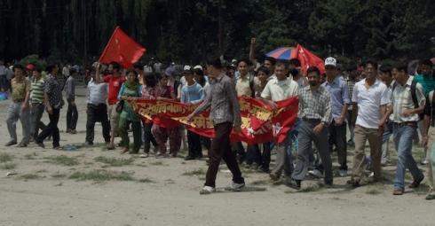 (29 May 2010). Maoist Rally, Kathmandu.