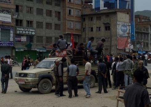 Maoist activists, Banepa