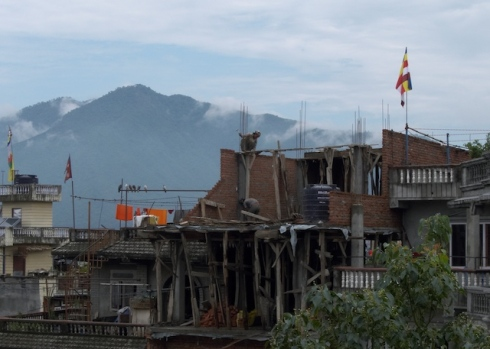 Construction workers, Kathmandu. John Callaway 2010