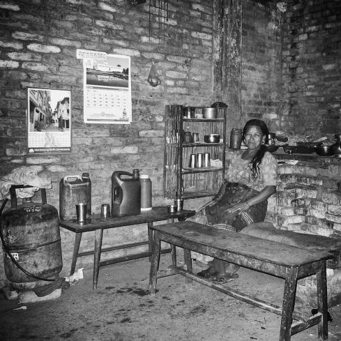 Barkeeper in Banepa, Nepal. John Callaway 2010