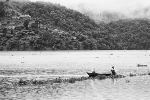 Early morning, Pokhara. John Callaway 2010