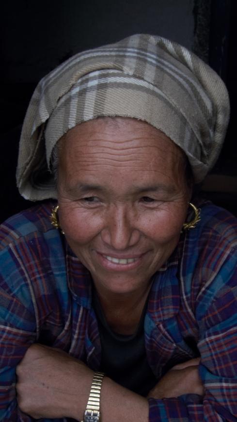Sherpa woman. John Callaway 2010
