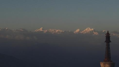 Himalayas from Nagarkott. John Callaway 2010
