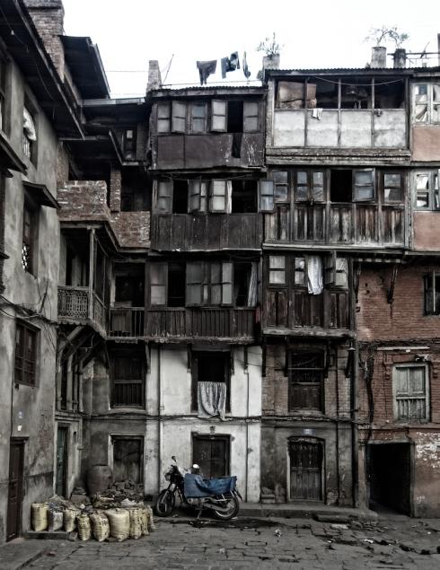 Old & New. Kathmandu. John Callaway 2010