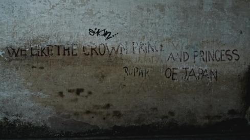 Strange graffitti... John Callaway 2010