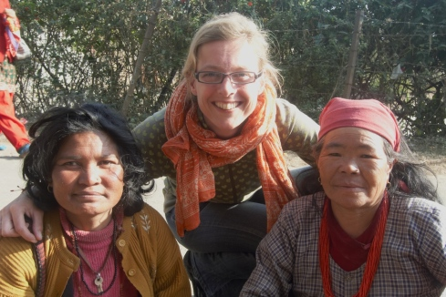 One of these women is not Nepali... John Callaway 2010