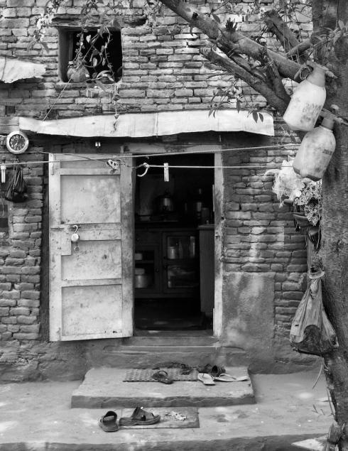 Doorway, Kathmandu. John Callaway 2011