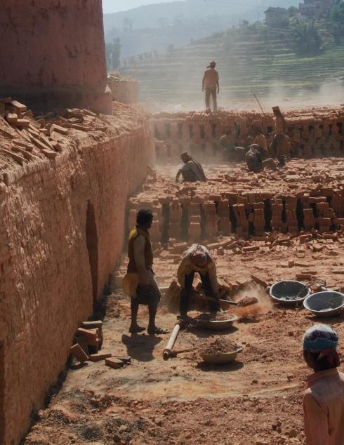 Brickwork Labourers. John Callaway 2011