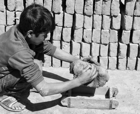 Brick Making. John Callaway 2011
