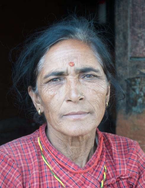 Bahun Woman. John Callaway 2011