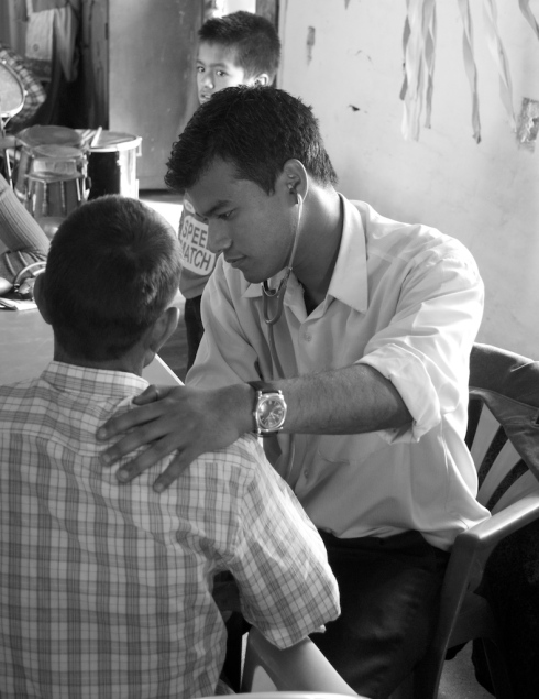 Community Health Camp. Kavre District. John Callaway 2011