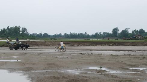 River Sunbara, Naukhuri. John Callaway 2011