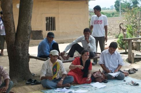 CSRC Staff & Local Land Rights Activists at Masurya. John Callaway 2011