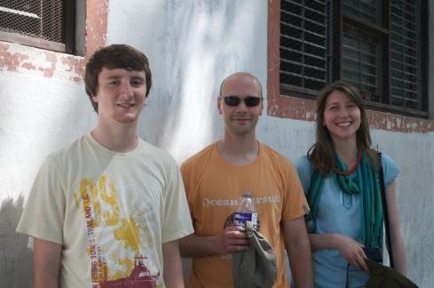 Rob, Ben & Joanne at Swayembunath. John Callaway 2011