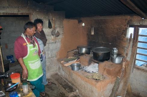 Nepali Chulo (Wood fired stove). John Callaway 2012