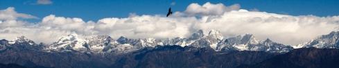 Himalayan Ranges from Nagarkot. John Callaway 2012