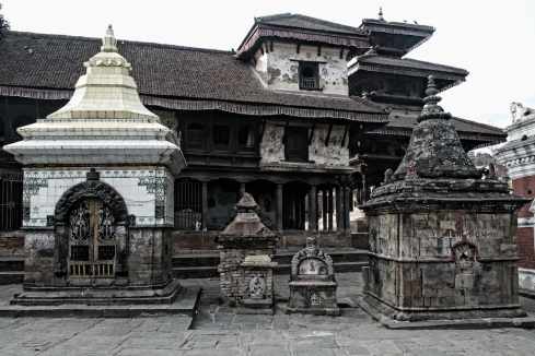 Triveni ghat complex, Panauti. John Callaway 2012
