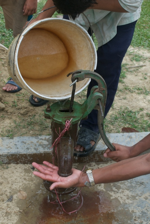 Water pump, Kanchanpur District, Nepal. John Callaway 2011