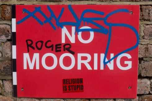 No Roger Mooring. John Callaway 2013