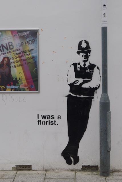 I was a florist... John Callaway 2013