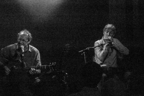 Dave Kelly & Paul Jones @ The Cellars. John Callaway 2014