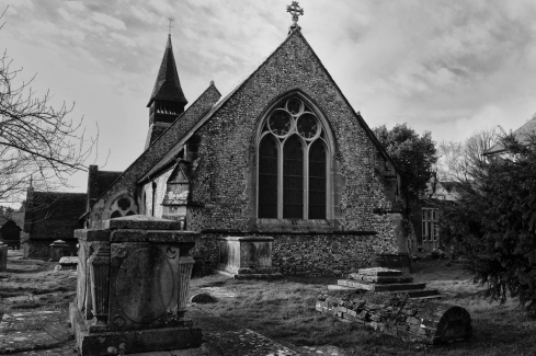 St Peter & Paul Church, Wymering. John Callaway 2014
