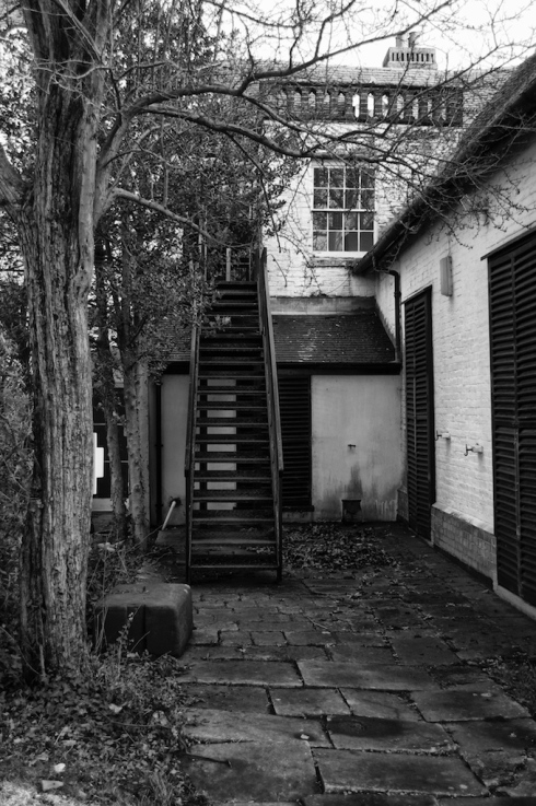 Fire Escape, Wymering Manor. John Callaway 2014