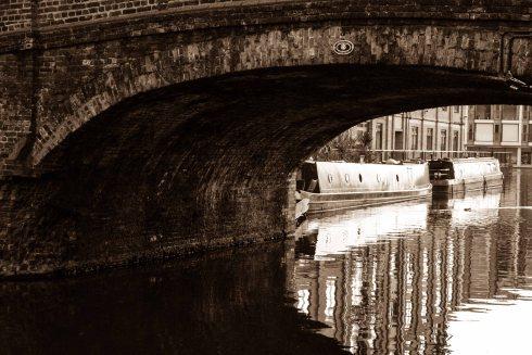 Wharf Road Bridge, Regents Canal. John Callaway 2014
