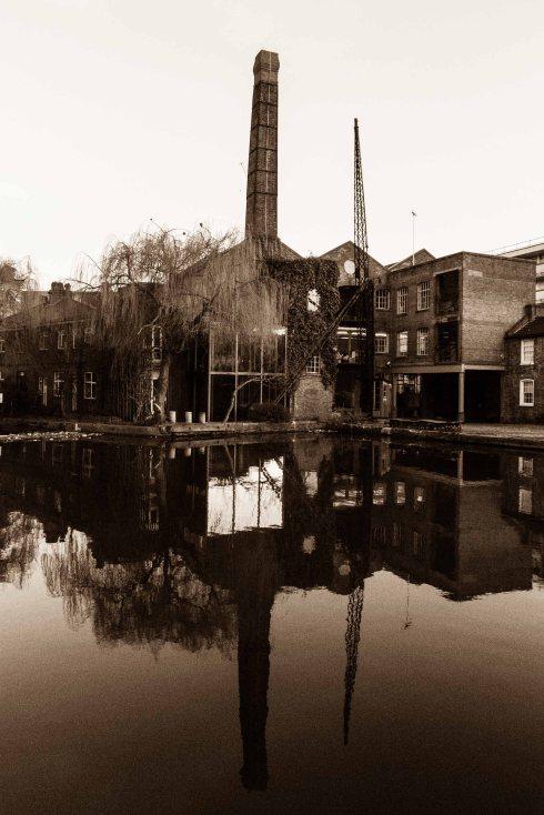 City Road Lock, Regents Canal. John Callaway 2014