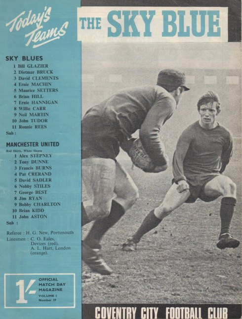 The Sky Blue [16 March 1968]