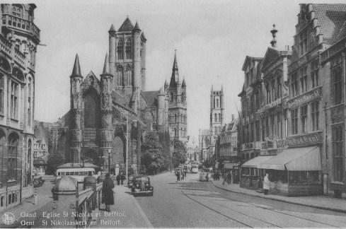 Gent , Belgium circa 1940