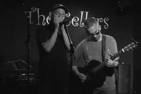 Leo & Anto... The Cellars @ Eastney. June 2015