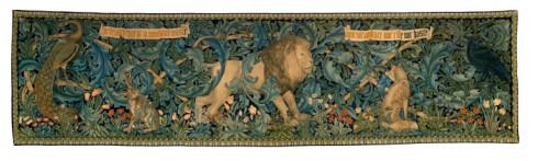 """""""The Forest"""". William Morris [1887] Image © Victoria & Albert Museum"""